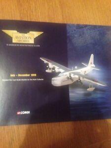 Corgi Aviation Archive Catalogue Juillet-décembre 1999-afficher Le Titre D'origine
