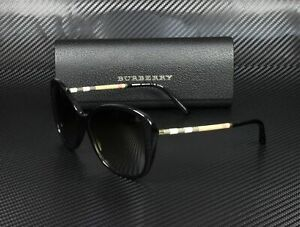 new buying now sleek Details about Burberry BE4235Q 3001T5 BLACK POLARIZED BROWN GRADIENT 57 mm  Women's Sunglasses