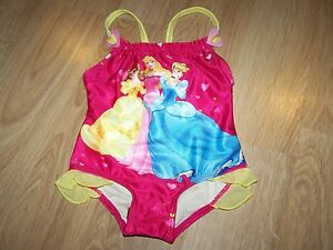 ce705bed2 Size 12 Months Disney Princess Swimsuit Bathing Swim Suit Cinderella ...