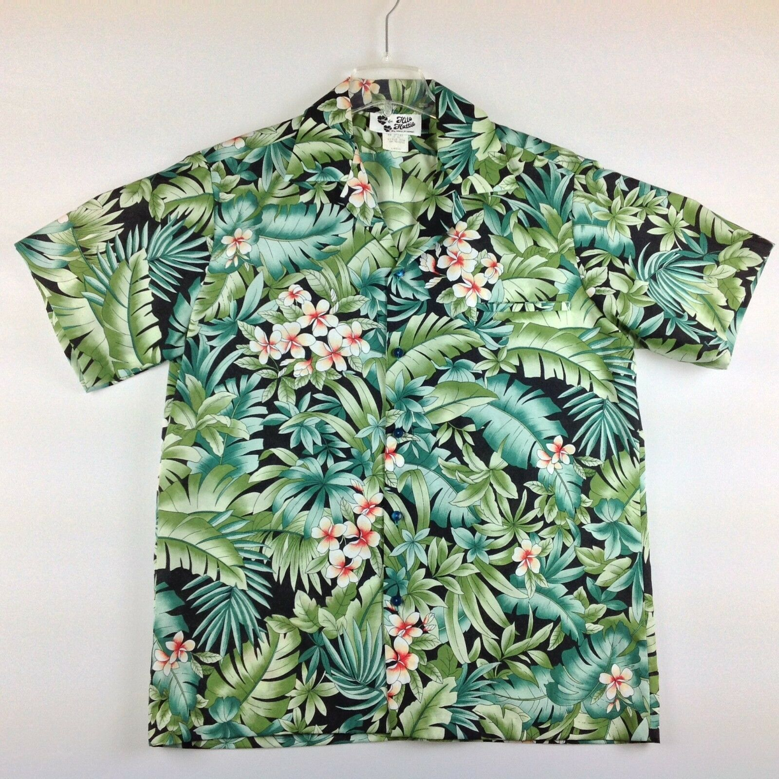 8a81e4e3 Vintage Hilo Hattie Shirt Men Large Camp Hawaiian Tropical USA ncpmhq24883-Casual  Shirts & Tops
