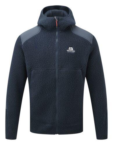 Mountain Equipment Men/'s Moreno Hooded Fleece Jacket Cosmos//Blue Nights