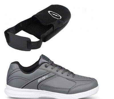 Mens KR Strikeforce Bowling Shoes Color Black Sizes 6-11 /& Black KR 1 Ball Bag