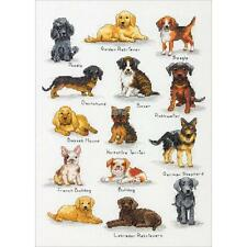 Dimensions Crafts 70-35316 Dog Wanted Counted Cross Stitch Kit