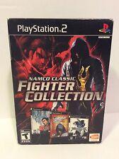 PlayStation 2 Namco Classic Fighter Collection- Tekken Tag- Tekken 4- Soul Calib