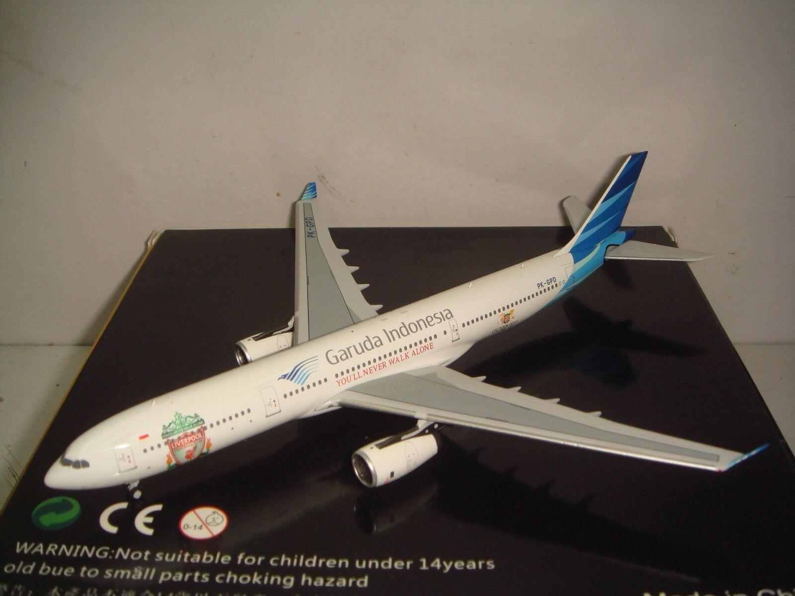 tienda de ventas outlet Garuda Indonesia PK A330-300  2010s Color-Liverpool Asia Asia Asia Tour 2013  1 400  marca famosa