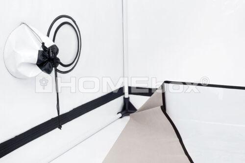 HOMEbox Ambient Q120 PAR Q 120 Growzelt Indoor Zuchtschrank 120 x 120 x 200 cm