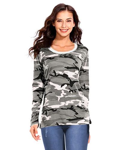Linea donna grigio Mimetica Esercito Abbigliamento Set Felpa Pantaloni Sportivi Tuta Da Ginnastica Pantaloni