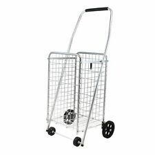 Helping Hand FQ39283 Pop 'n Shop? Folding Cart with Wheels and Handle