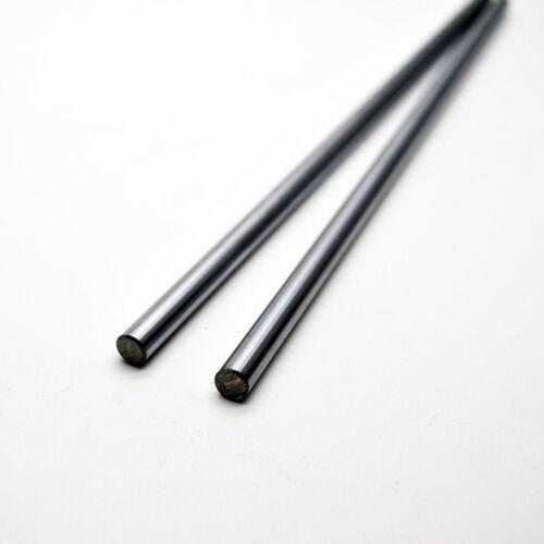 2Pcs #45 Steel Rod 15mm Dia CNC Linear Shaft L 230//480mm Cylinder Shaft Optical