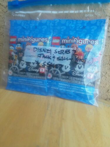 LEGO 71024 Jack Skellington /& Sally Disney Minifigures Series 2 SEALED FAST SHIP
