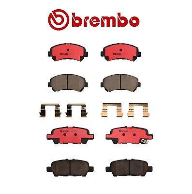 Brembo Front and Rear NAO Ceramic Brake Pad Set Kit For Nissan Juke Rogue Sentra