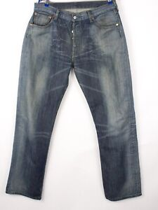 Levi's Strauss & Co Hommes 501 Jeans Jambe Droite Taille W36 L34 BBZ411