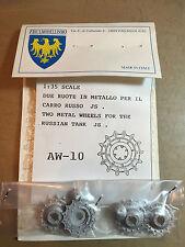 FRIULMODELLISMO AW-10 TWO WHEELS RUSSIAN TANK JS 1/35 METAL KIT