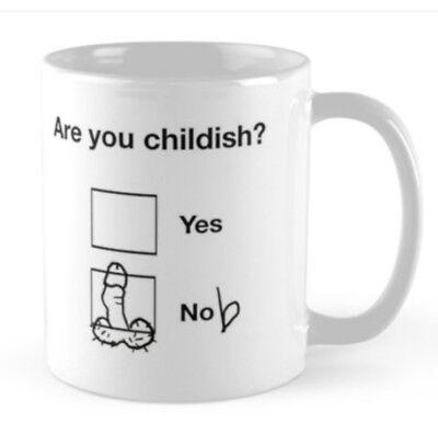 Birthday small gift present idea rude funny mug cup for a boyfriend husband