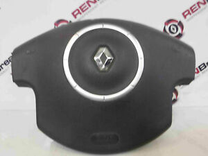 Renault-Megane-2002-2008-Drivers-Steering-Wheel-Airbag-Cruise-Control-8200414936