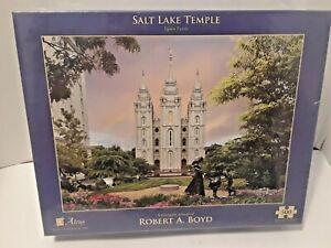 Salt Lake Temple by Robert A. Boyd - Jigsaw Puzzle (500 Piece)  Altius fine art
