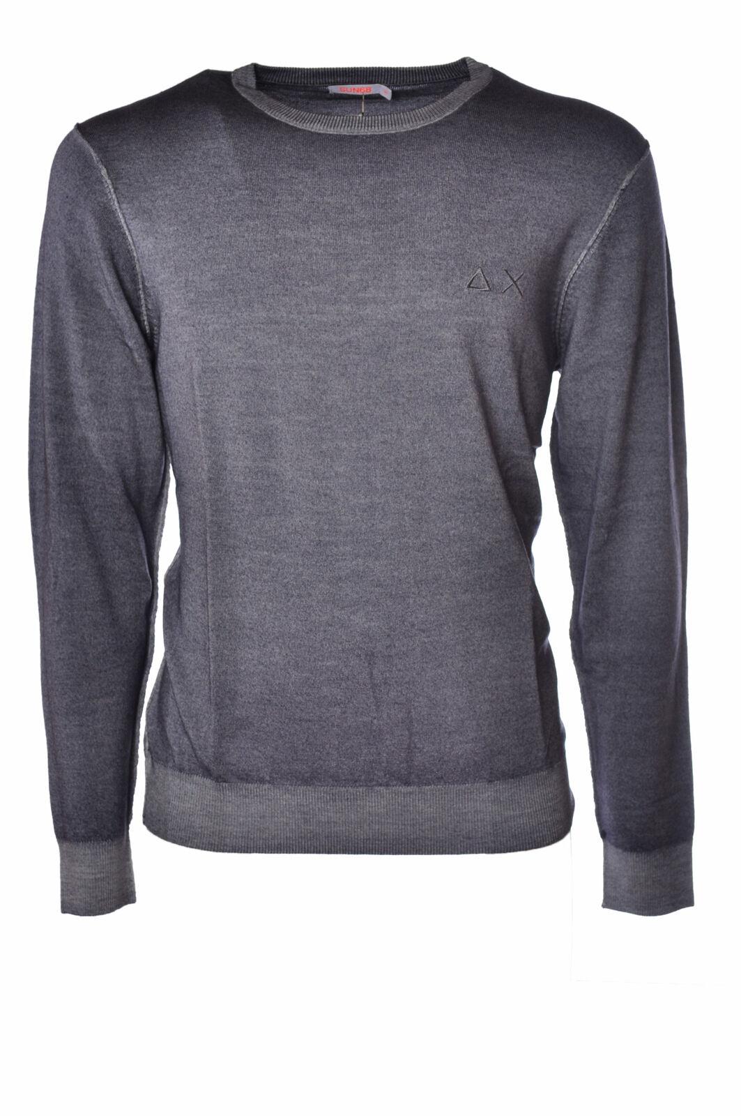 Sun 68  -  Sweaters - Male - Grau - 2514226N173332