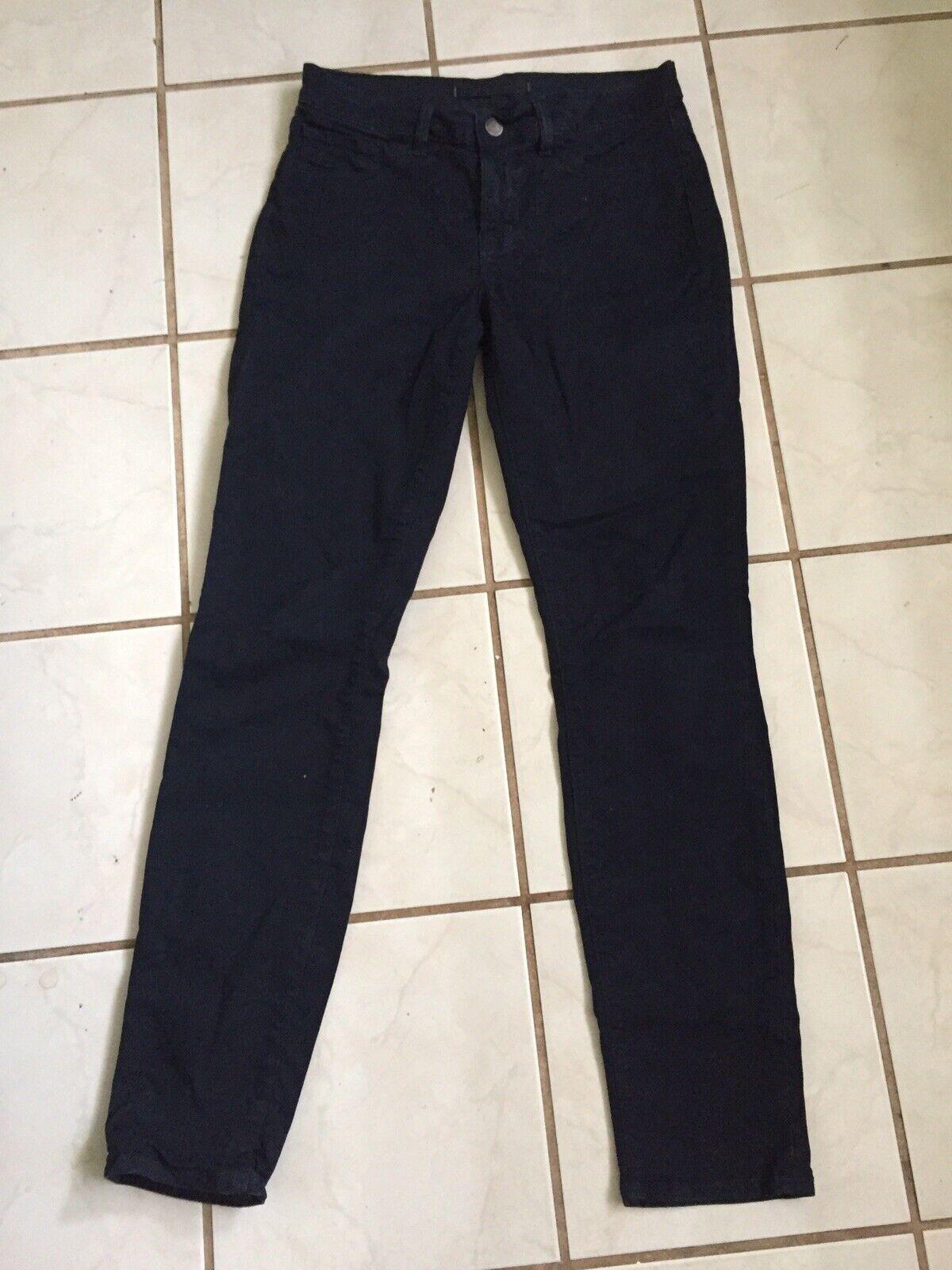 J Brand Women's SKINNY LEG Mid Rise Jeans in Navy Sz 27