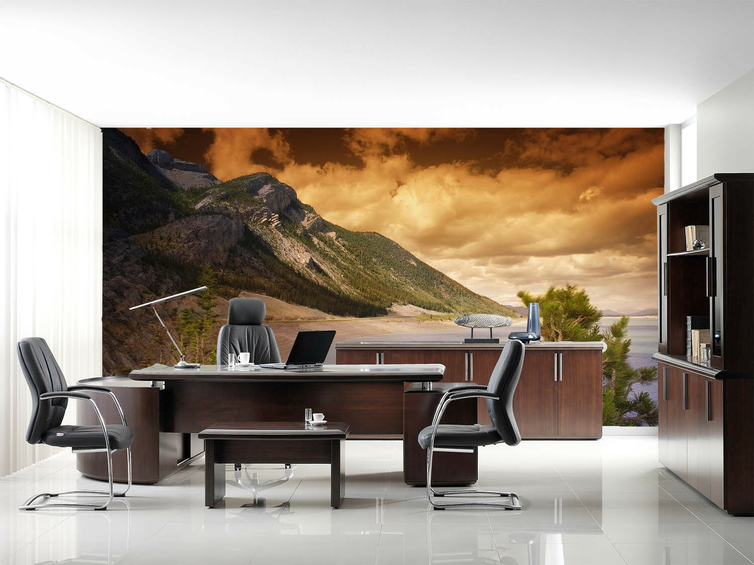 3D Dusk Beach Hills 5 Wall Paper Wall Print Decal Wall Deco Indoor Murals Summer