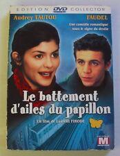 2DVD LE BATTEMENT D'AILES DU PAPILLON - Audrey TAUTOU / FAUDEL - FIRODE