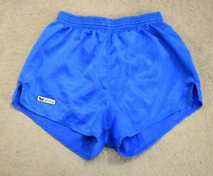 ERIMA-Vintage-Nylon-Shiny-Fussball-Running-Retro-80s-90s-Shorts-Sprinter-d4-XS
