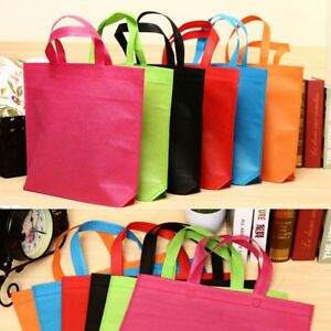 Image Is Loading 1PC Convenient Colorful Shopping Bag Storage Grocery  Reusable
