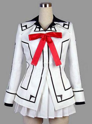 Vampire Knight Cosplay Costume New Yuki Cross White or Black Womens Dress Sz