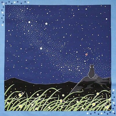 Japanese 12 Seasons in Kyoto Tama The Cat Furoshiki Amanokawa Hotaru Fireflies