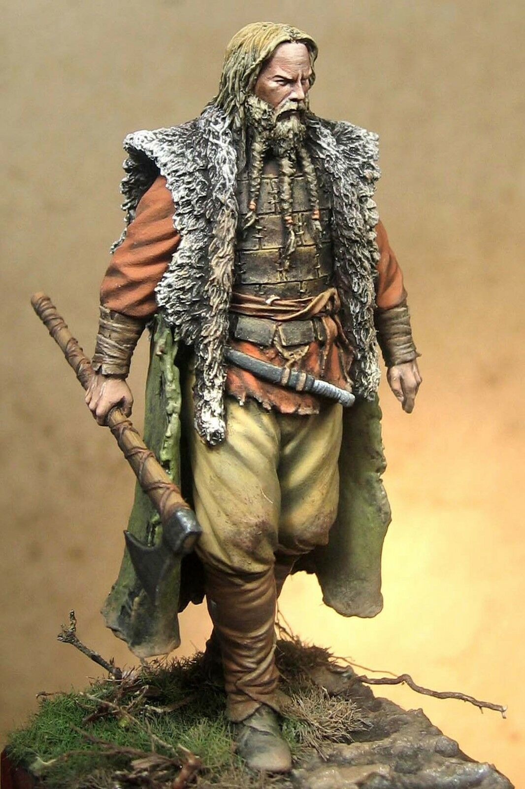 Art Girona Norseman Viking Warrior 70mm Unpainted kit Raul LATORRE