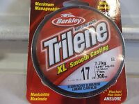 Berkley Trilene Xl 17 Lb 300 Yards Clear Blue Fluorescent
