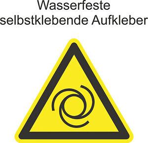 Hinweis-Aufkleber-Vorsicht-Warnung-vor-automatischem-Anlauf-ab-5cm-Uv-fest