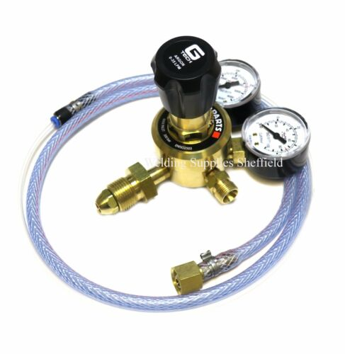 Starparts Argon//Co2 Mixed Gas Regulator Single Stage Two Gauge