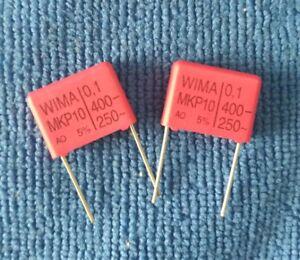 5pcs Wima Mkp10 0 1uf 0 1µf 0 1uf 100nf 400v 5 P 15mm Capacitor Ebay