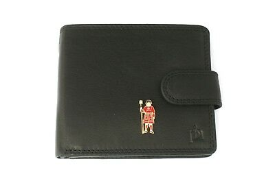 Rational Beefeater Mens Leather Wallet Black Or Brown Guards Gift 031