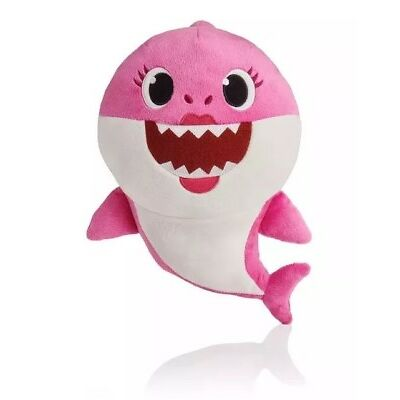 Pinkfong Baby Shark Official English Version Song Doll Pink Mommy Shark PREORDER