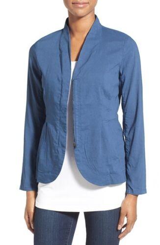 Organic Størrelse Stand Zip Jacket Eileen Blend Fisher Nwt Liner M 298 Front krave qURTxYS