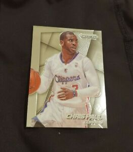 2014-15 Panini Prizm silver Chris Paul basketball card #129 Clippers EX