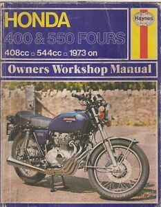 honda cb400 f cb550 cb550 f cb550 k1 1973 1976 owners workshop rh ebay co uk CB550 Top Speed 1976 CB550K