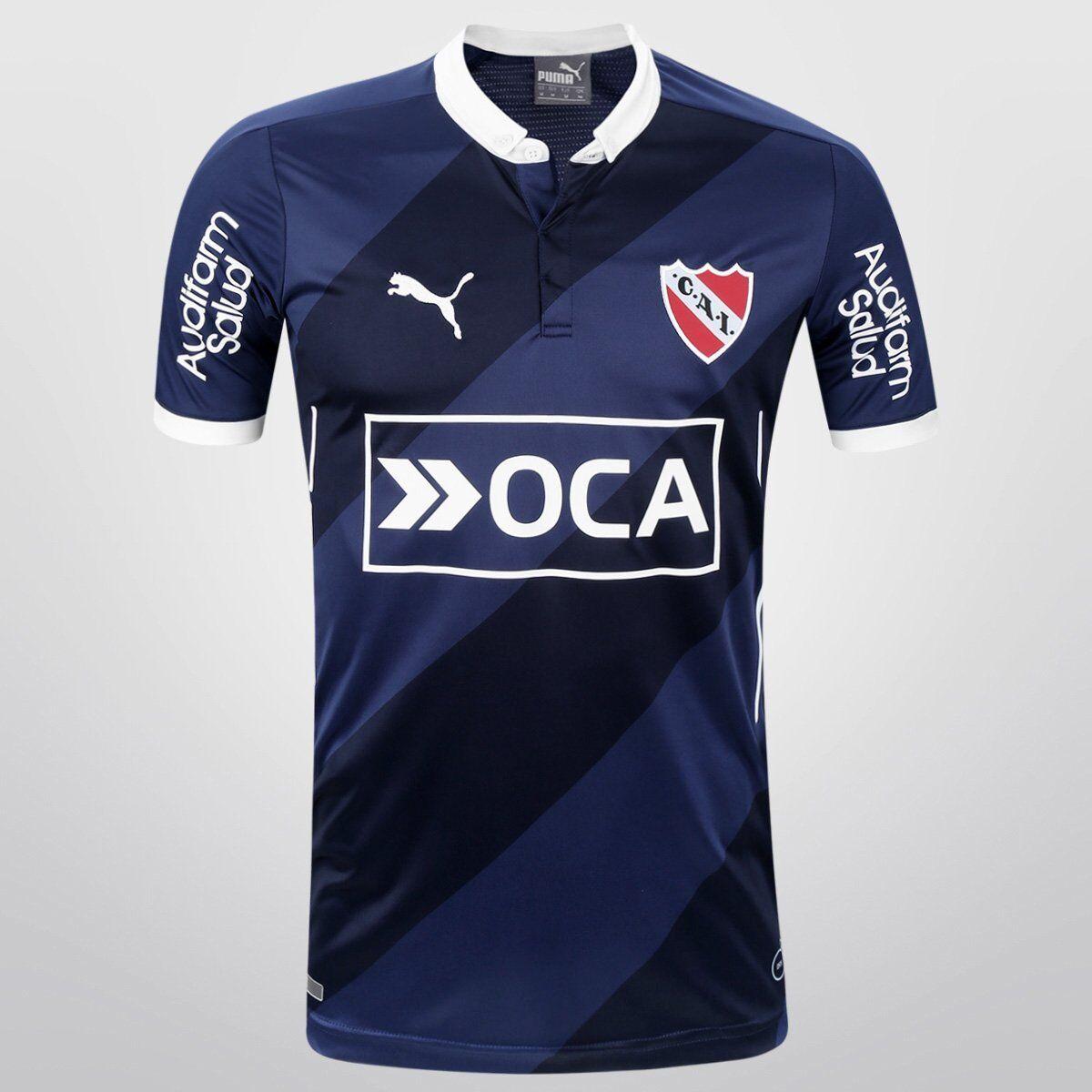 Camiseta Puma Independiente Alternativa 2016 - blue-Marino (DEPO)