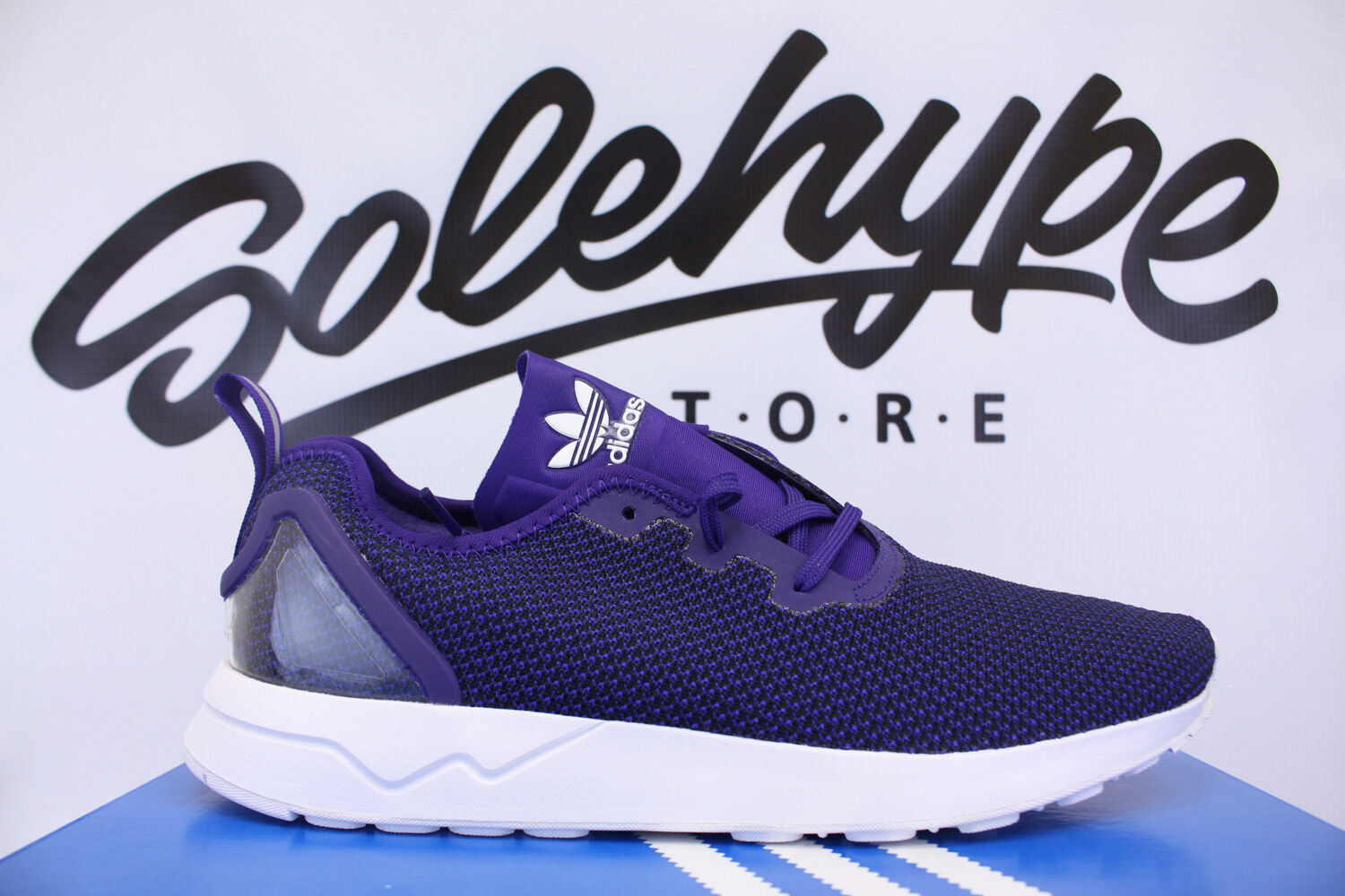 ADIDAS ZX FLUX ADV ASYMMETRICAL COLLEGIATE PURPLE S79053 SZ 8