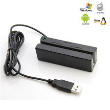 Credit Card Reader Machine Portable Mini USB Magnetic Stripe Swiper Mag MSR