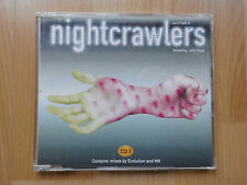 CD-single: NIGHTCRAWLERS-Let 's push it CD 1 (contains mixes by Evolution and MK)