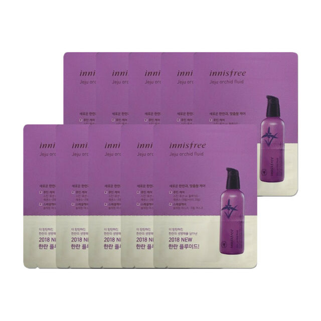 INNISFREE ® Jeju Orchid Fluid 1ml * 10pcs [Sample]