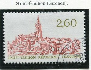 Photo Non Contractuelle Goods Of Every Description Are Available Timbre France Oblitere N° 2162 Saint Emilion Stamps Topical Stamps