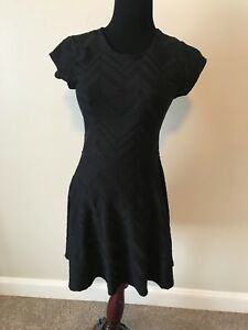 711ce9d45600 Cute Candies Black Cap Sleeve with back Zipper Dress size medium | eBay