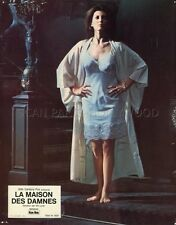 SEXY PAMELA FRANKLIN THE LEGEND OF HELL HOUSE 1973  VINTAGE LOBBY CARD ORIGINAL