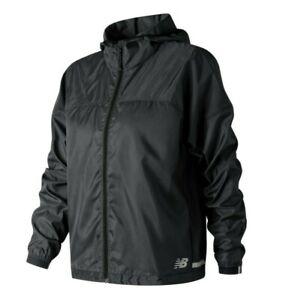 New-Balance-Women-039-s-Light-Pack-Jacket-Black-Size-M