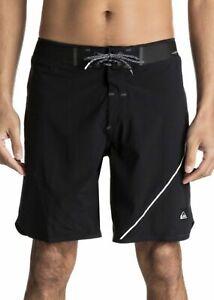 Negro Quiksilver Hombre Boardshorts 31