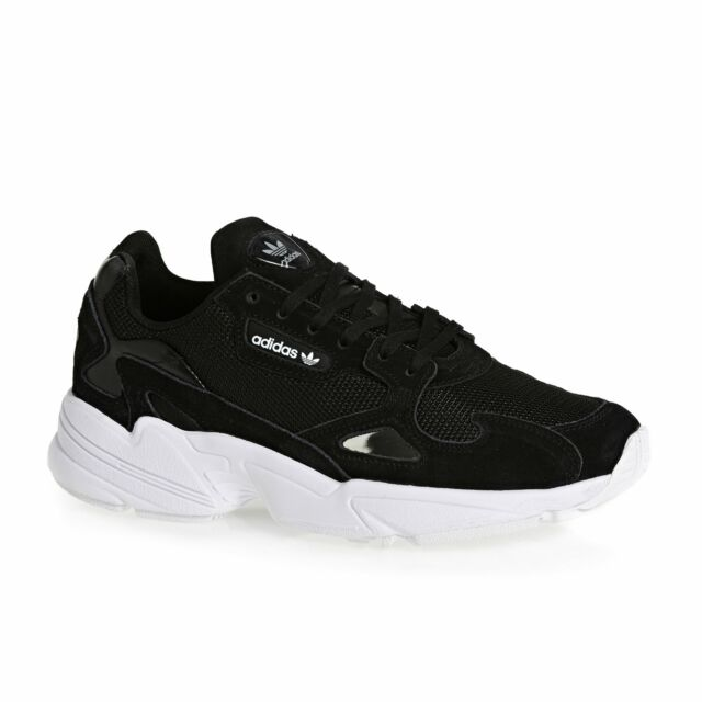 6a42c16b5f197 Women s adidas Originals Falcon W Lace-up Trainers in Black - Size ...