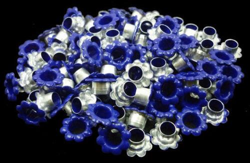 Tarjeta Azul Marino Flores Ojales Scrapbooking agujero Leathercraft Punch E056 100 un